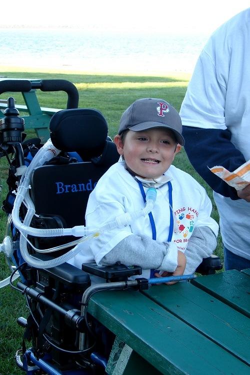 Brandon at the 1st Annual Brandon Motta Race.