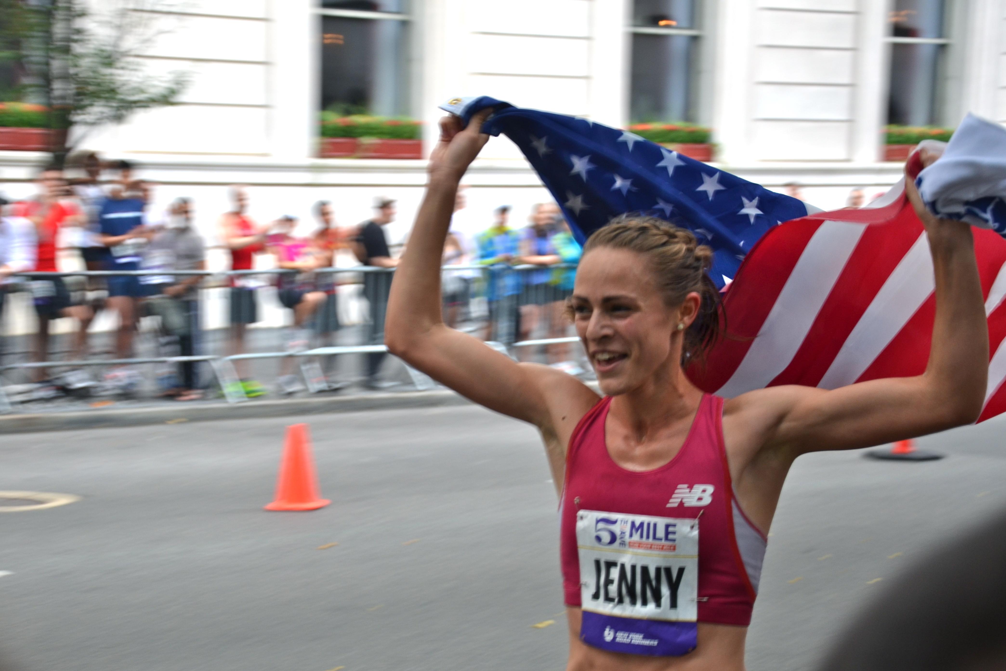 Jenny Simpson Wins