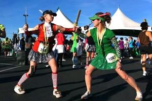 run Disney, runDisney, Disney running, Tinker Bell Half Marathon, Team Sparkle, According to Kelly, Kelly Lewis, running costumes