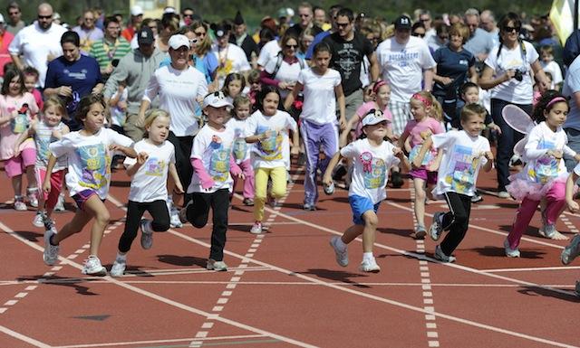 Royal Family Kids' Races Start