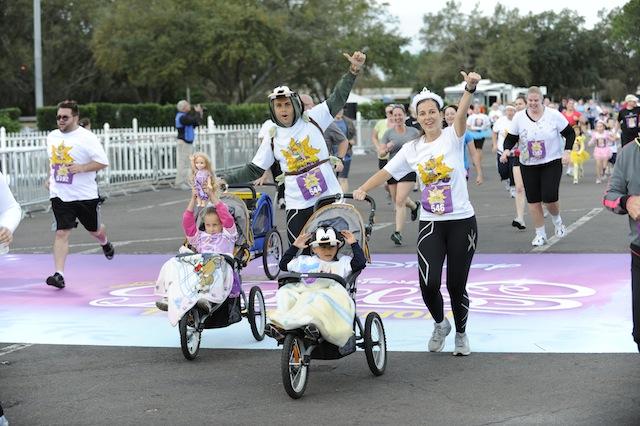 Disney 5K's are stroller friendly