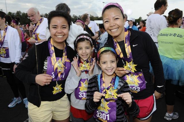Tangled Royal Family 5K medals