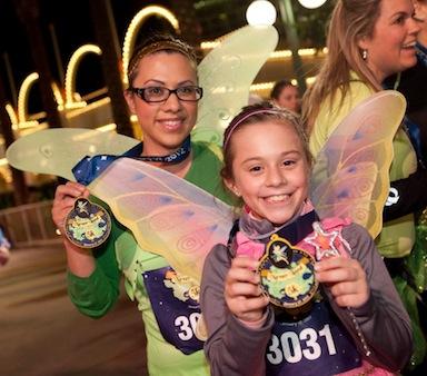 Disney races, run Disney, kids races, family fun run