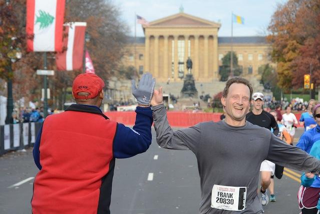 Philadelphia Marathon, marathon training