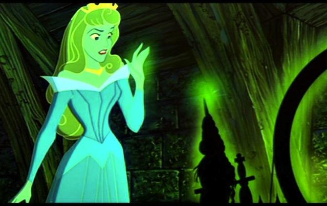 Disney running, Sleeping Beauty