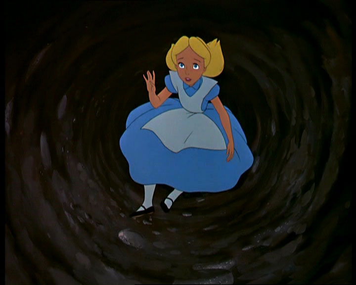 Disney Running, Alice in Wonderland