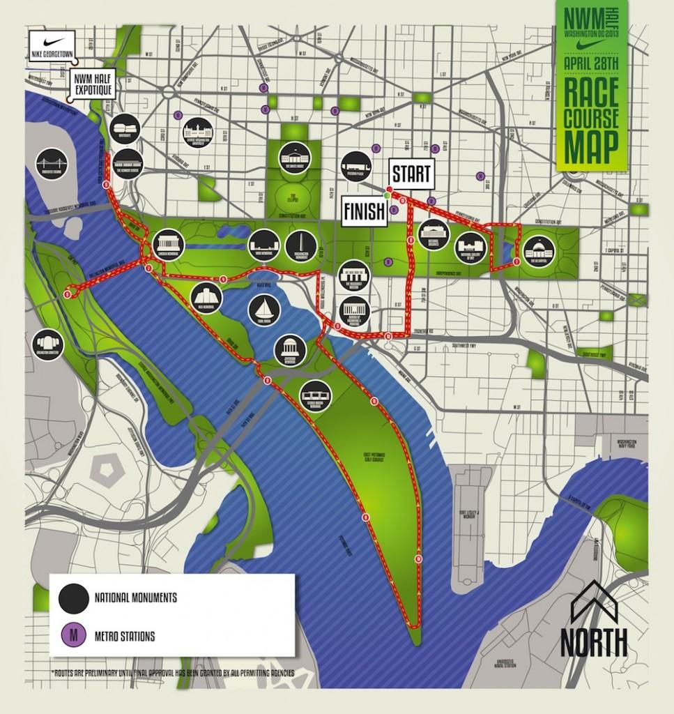 Nike Women's Marathon, Nike Women's Marathon Half DC, half-marathon