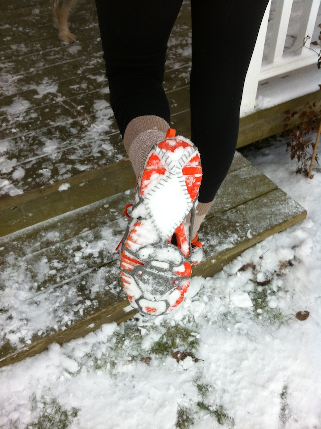 yaktrax run, winter running