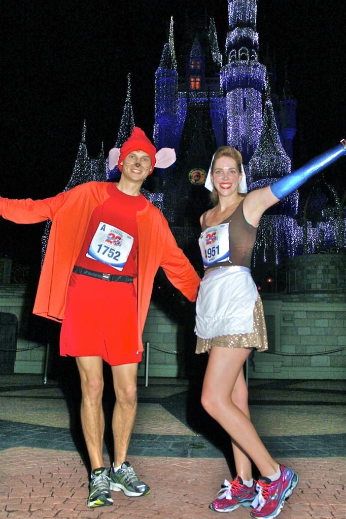 Walt Disney World Marathon, Disney running, run Disney, Cinderella Castle