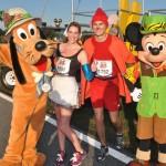 Walt Disney World Marathon, Disney running, run Disney, Cinderella in rags running costume, Jacques the Mouse