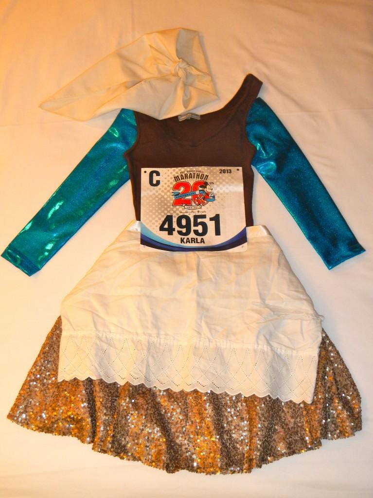 Walt Disney World Marathon, Disney running, run Disney, running costume, Cinderella, running costumes