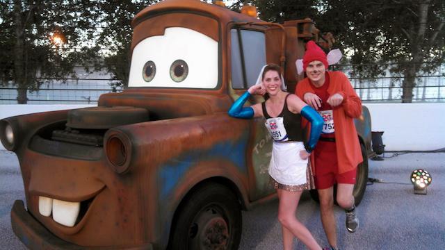 Walt Disney World Marathon, Disney running, run Disney, Cinderella in rags, Jacque the Mouse, running costume