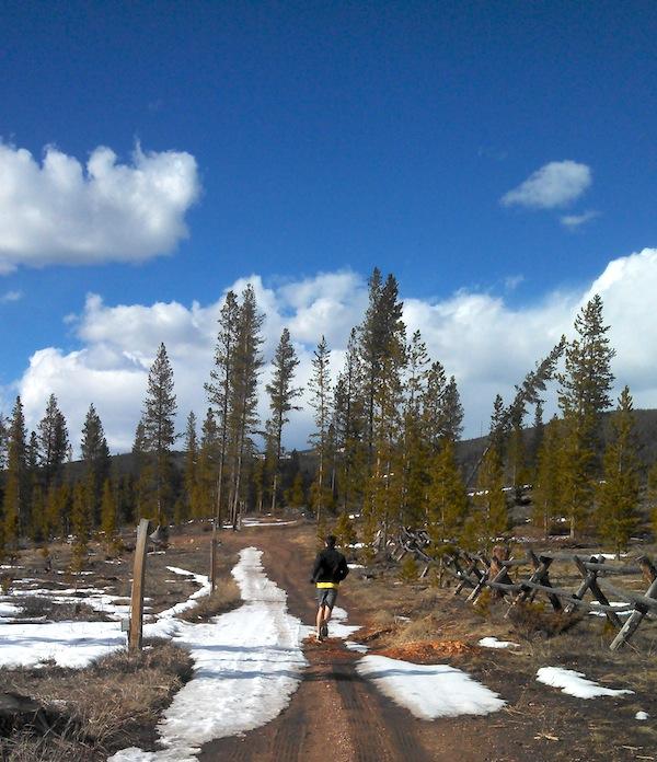 trail running, Colorado