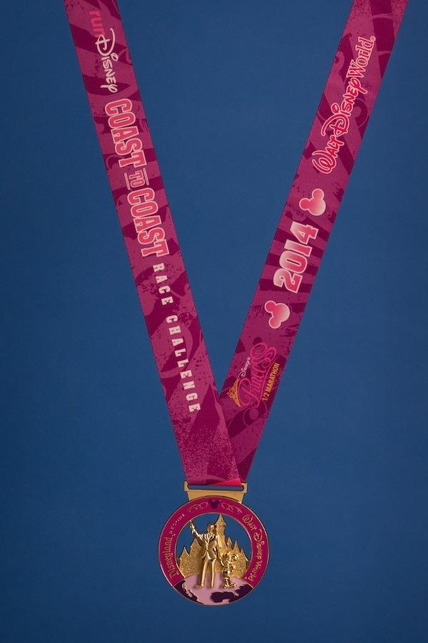 runDisney, Disney running, Coast-to-Coast Race Challenge, Disney's Princess Half Marathon, Tinker Bell Half Marathon