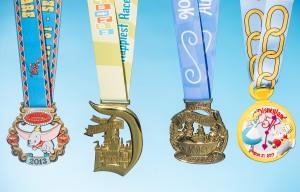 Disneyland Half Marathon medals, runDisney, run Disney