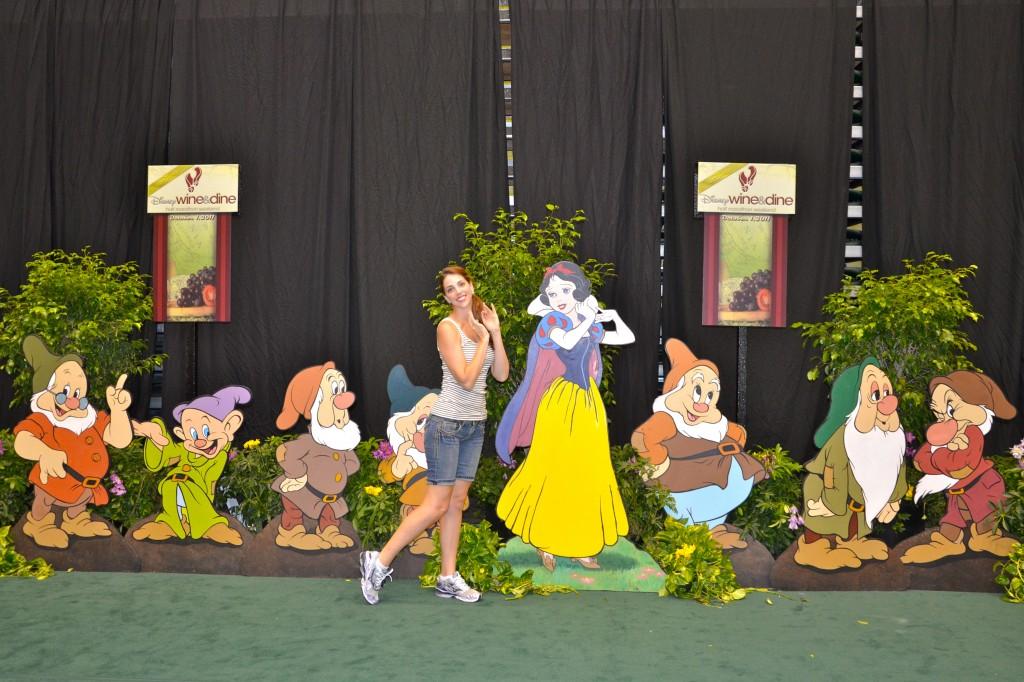 running, Snow White