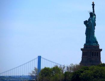 Statue of Liberty, Newport Liberty Half Marathon, Liberty State Park