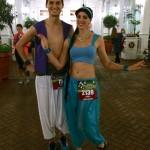 Aladdin and Jasmine are ready to run!