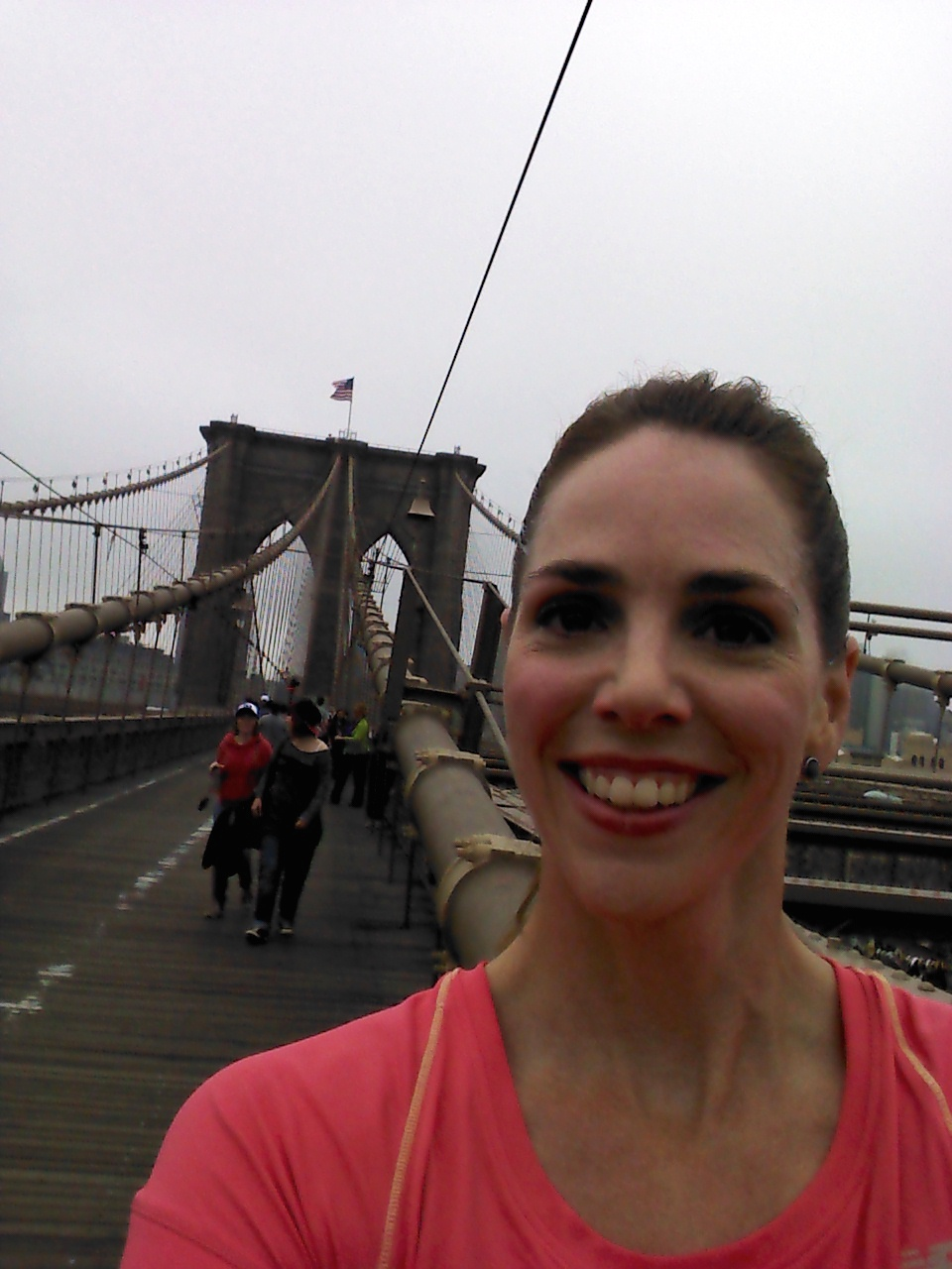 Bridge at the Brooklyn Half Pre-Party Fun Run with New Balance