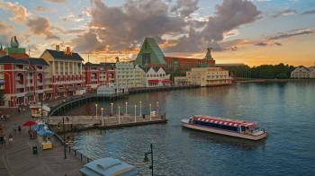 Disney's BoardWalk is walking distance to both Epcot and Disney's Hollywood Studios. (Photo: Disney)
