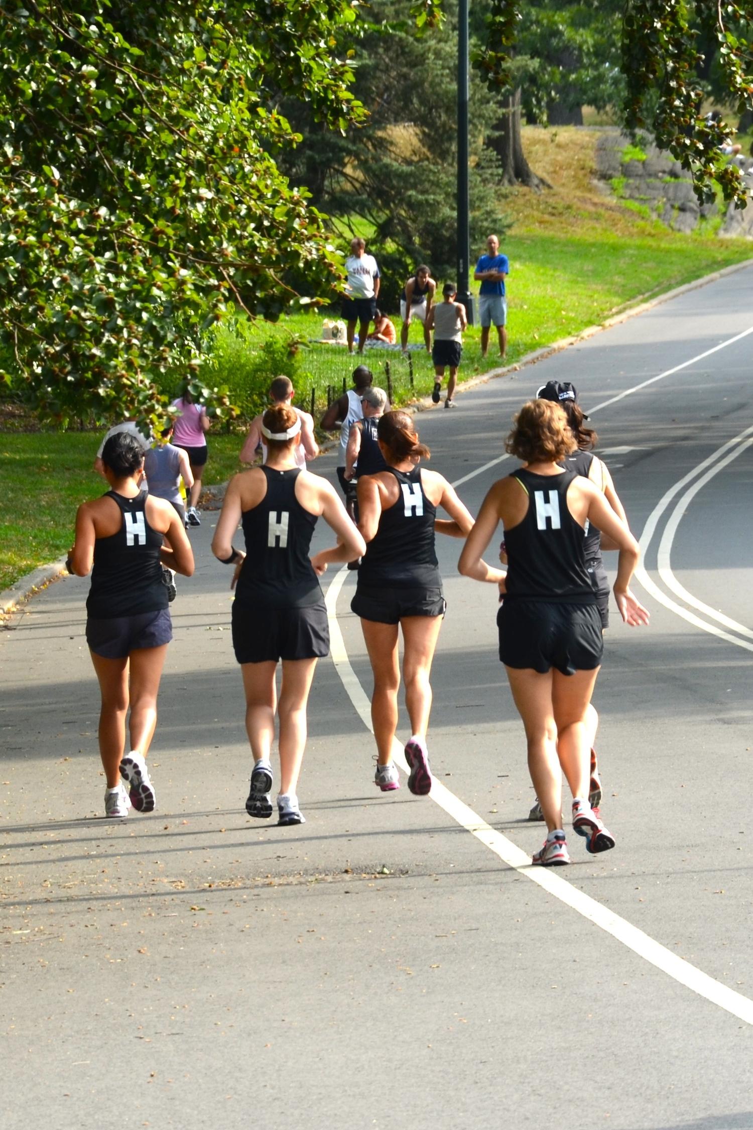 How To Run Faster? Run With The Fast Crowd On A Running Tream  Run, Karla,  Run!