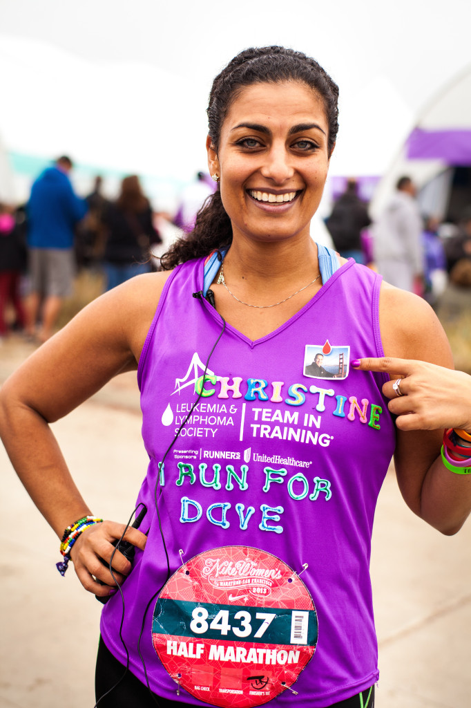 Run Nike Women's Hlaf Marathon SF for charity with TNT