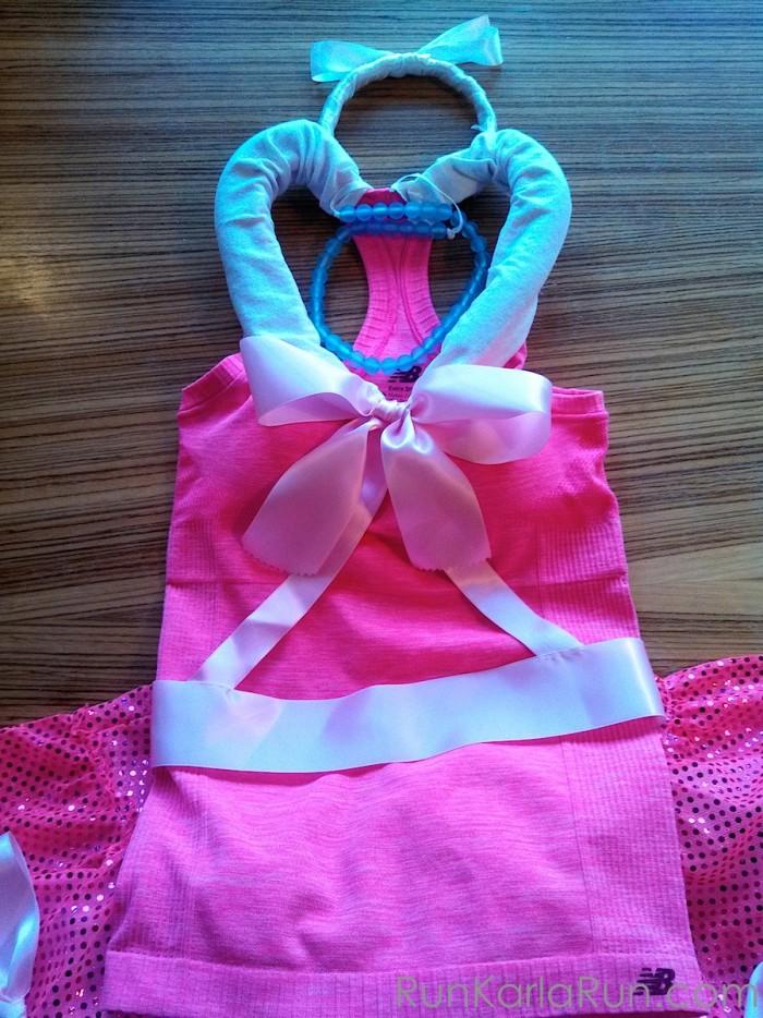 Pink Cinderella Running Costume 14