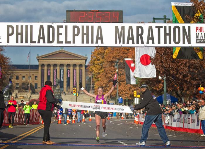 Running the GORE-TEX Philadelphia Marathon