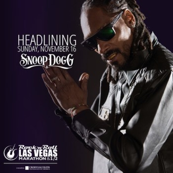 Snoop Dogg Headlines Rock 'n' Roll Las Vegas Marathon