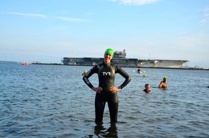 Race Report: Naval Station Newport Sprint Triathlon