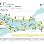 Getting Lost in the Bermuda Triangle Challenge: Bermuda Marathon & Half Marathon Course Map