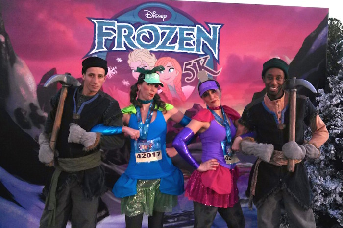 Disney Princess Enchanted 10K Running Costume Sneak Peek