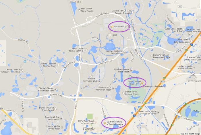 Hilton Orlando Bonnet Creek Disney Race Weekends