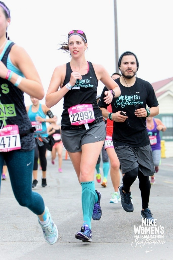 c86c74fd1 Race Report: Nike Women's Half Marathon San Fran | Run, Karla, Run!