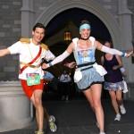 Cinderella & Prince Charming Running Costumes at Disney Princess Half Marathon